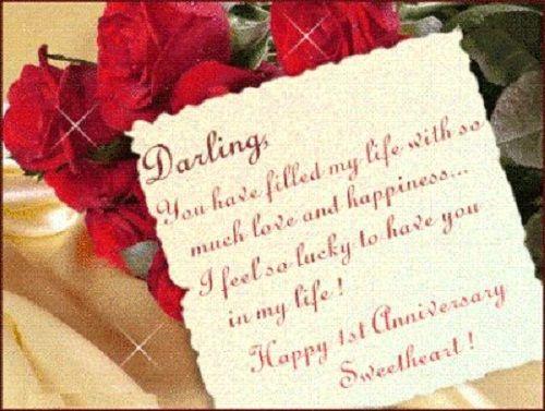 St wedding anniversary quotes love new years