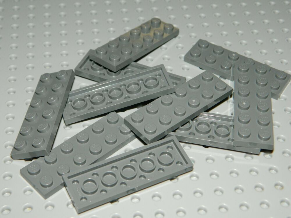 LEGO Lot of 2 Light Bluish Gray 1x12 Plates Parts and Pieces