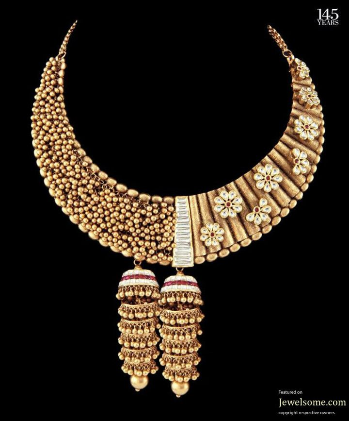 krishniah chetty sons jewellery design of Traditional Gold beads ...