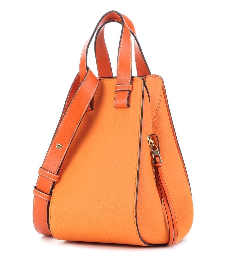 e94afe7f6743 LOEWE Hammock Leather Shoulder Bag.  loewe  bags  shoulder bags  hand bags   leather  lining