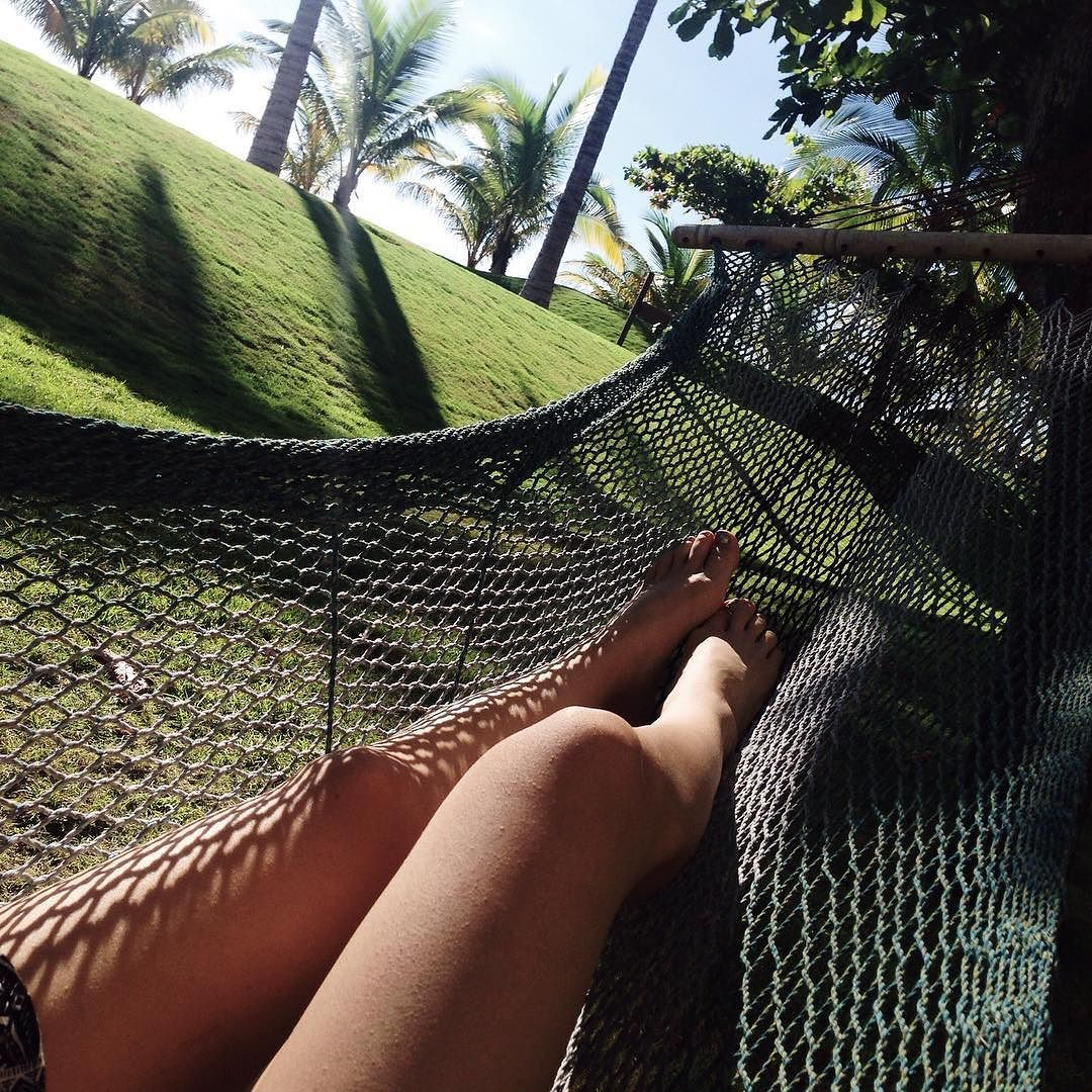 Quién no ama dormir en una hamaca? by @tello.k
