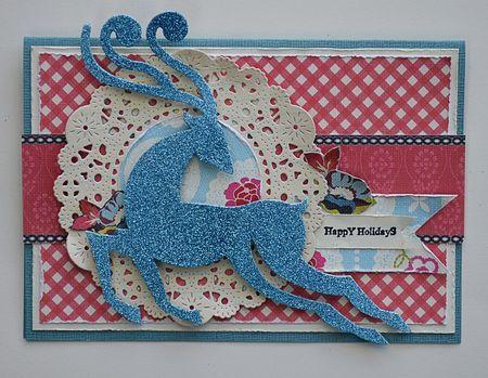 Holiday card by Prima Educator, Janine Koczwara