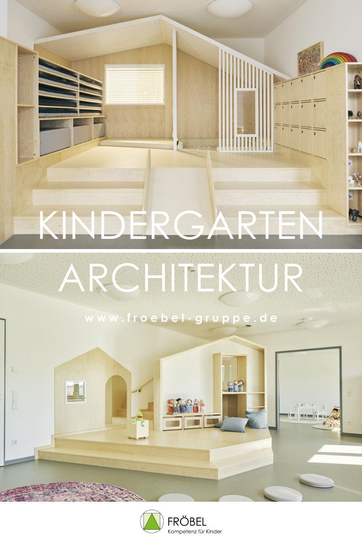 Kindergarten Architektur Projekte   Kindergarten innenraum, Kita ...