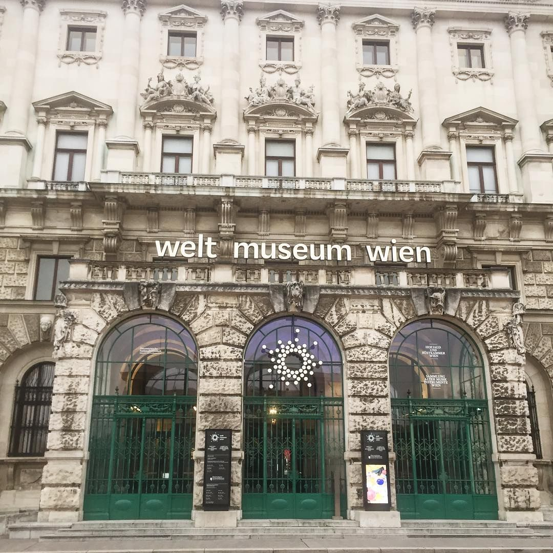Things to do in Vienna🤗 have you seen the Welt Museum in