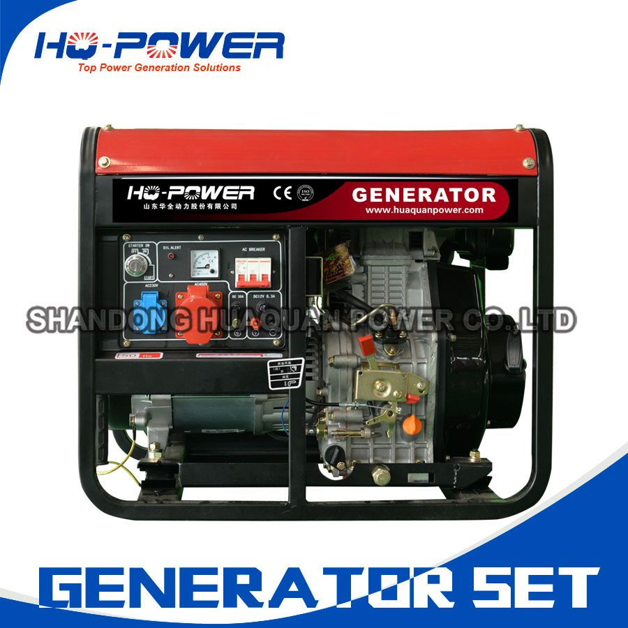 single/three phase 220/380v 7kw best portable generator for
