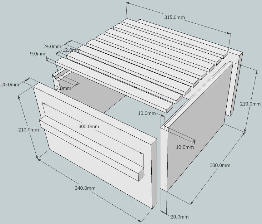 Warre hive plan_box_exploded_shadow.jpg (90126 bytes) | garden notes ...