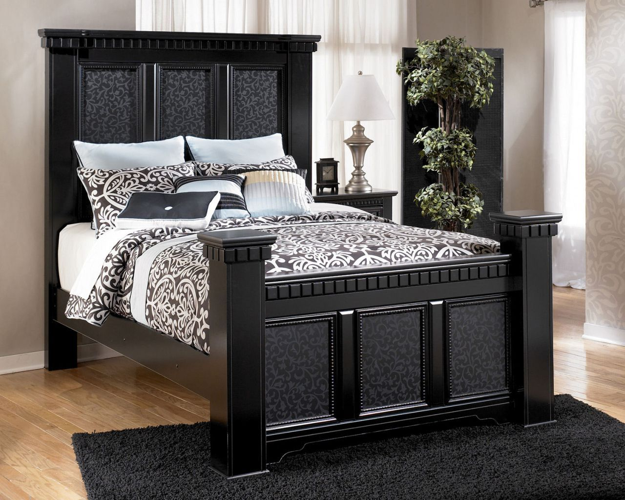 Home gallery furniture for poster beds cavallino queen new mansion