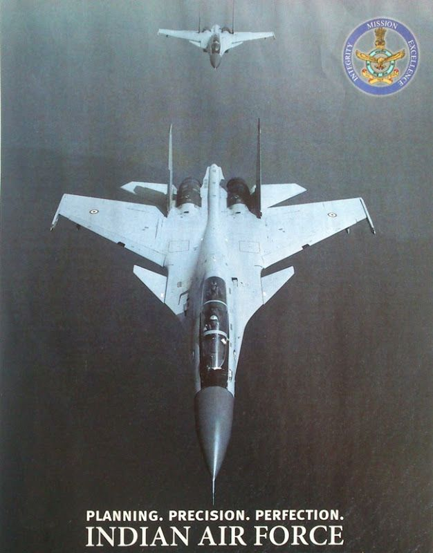 Indian Air Force Recruitment Poster Sukhoi Su 30 Mki Formation Kickassery Unlimited Air Force Wallpaper Indian Air Force Sukhoi Su 30