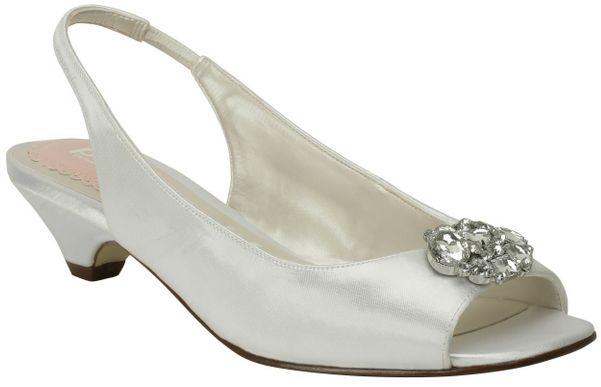 e8aca6e1dae White Pink Petunia Bridal Shoes