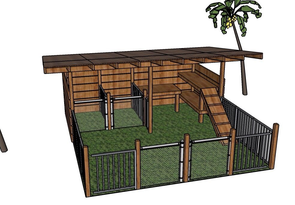 Goat Enclosure Nice But I Wouldnt Want The Goats To Be Able Get Out Like They Can On Right Side With That Walk Up