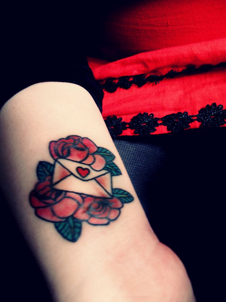 Love letter tattoo | Tattoos | Pinterest