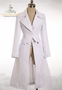 cute coat with corset back  long coat jacket elegant