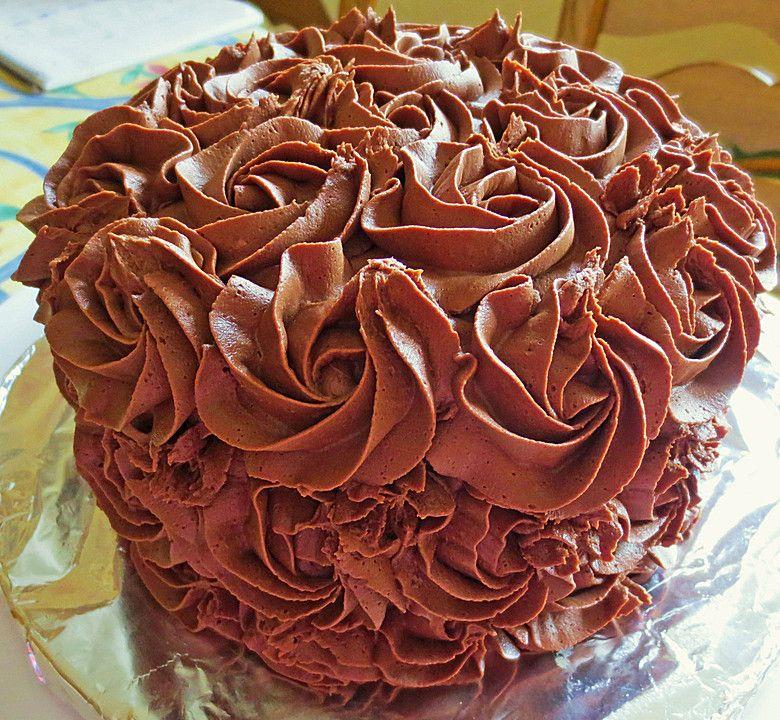 Schokolade-Praliné Creme #pralinecake