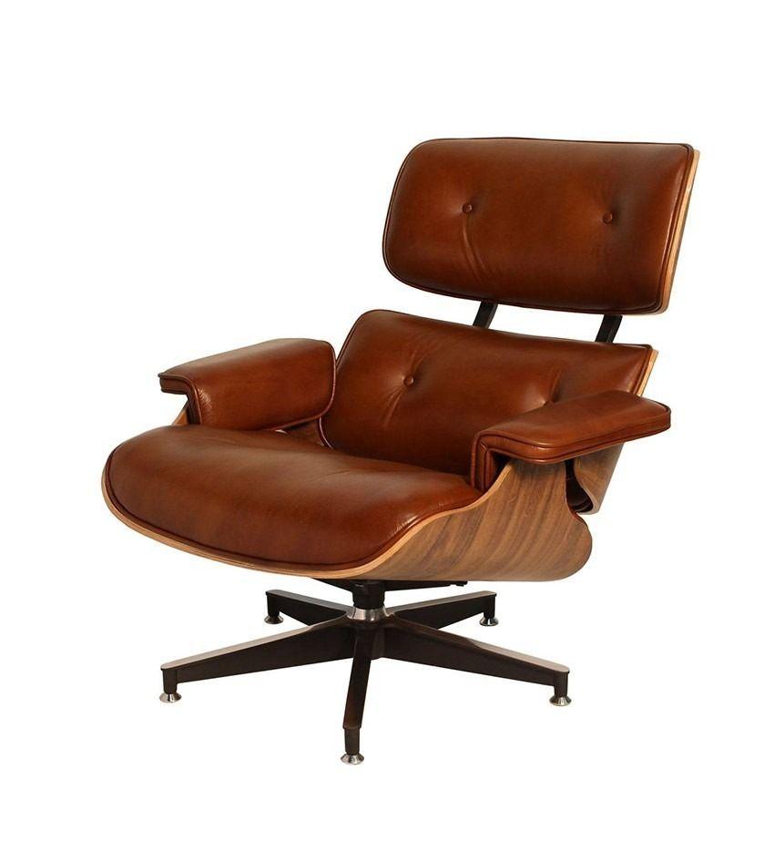 Charles Eames Poltrona.Poltrona Charles Eames Sem Banqueta Sala Charles Eames