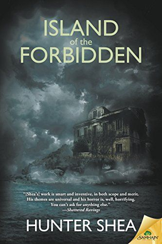 Island of the Forbidden by Hunter Shea  Jessica Backman has been called to help a strange family living on a haunted island in Charleston Harbor. Ormsby Island was the site of a brutal massacre two decades ago, and now the mysterious Harper family needs someone to exorcise the ghosts that still call it home.