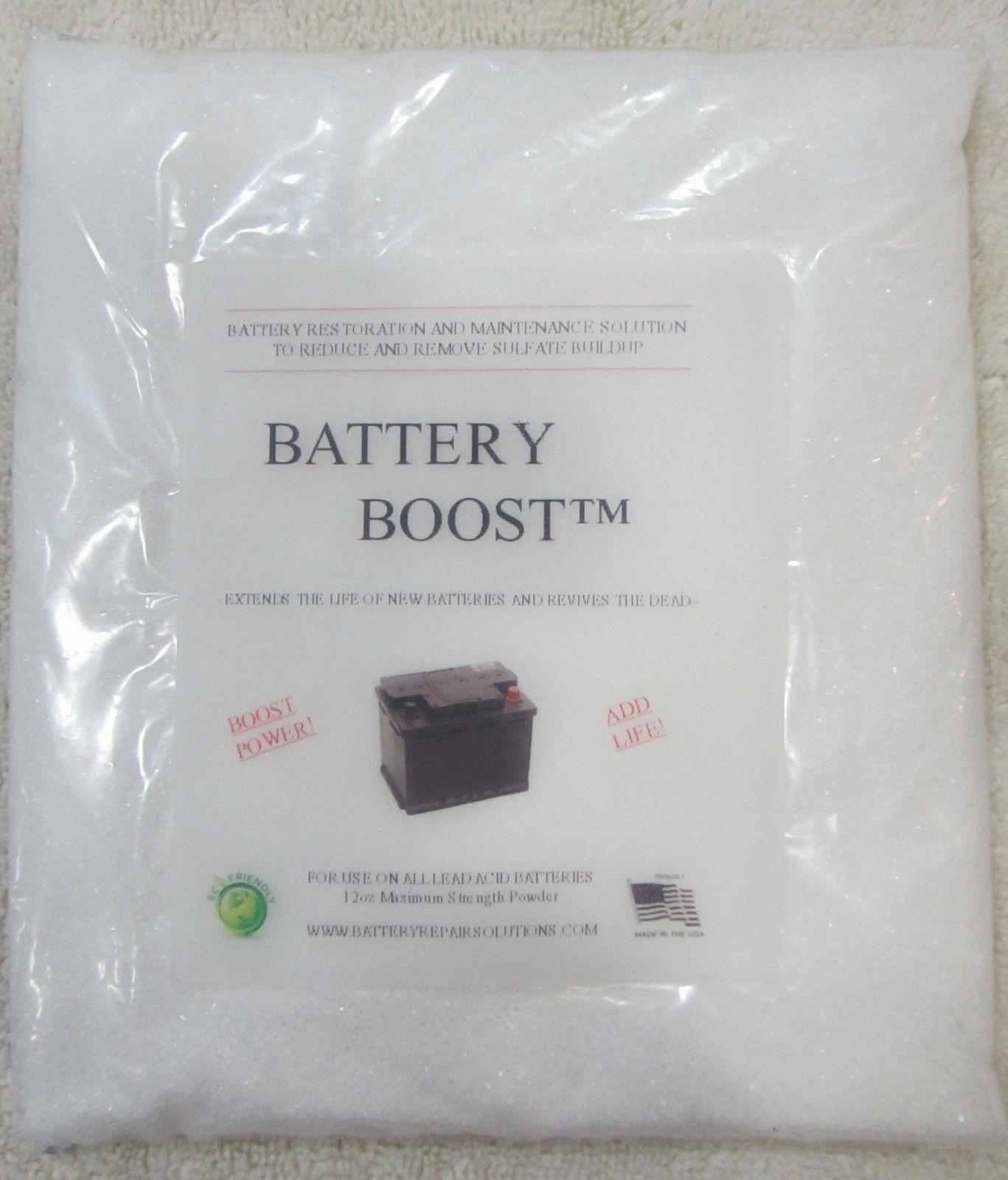 Golf Cart Battery Boosta Repair Fix Restore 6 6 Or 8 Volt