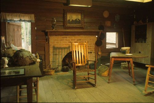 Images Of Pioneer Cabins On The Inside | Inside Cabin