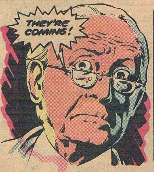 Old man from Doctor Who's first American comic book appearance.