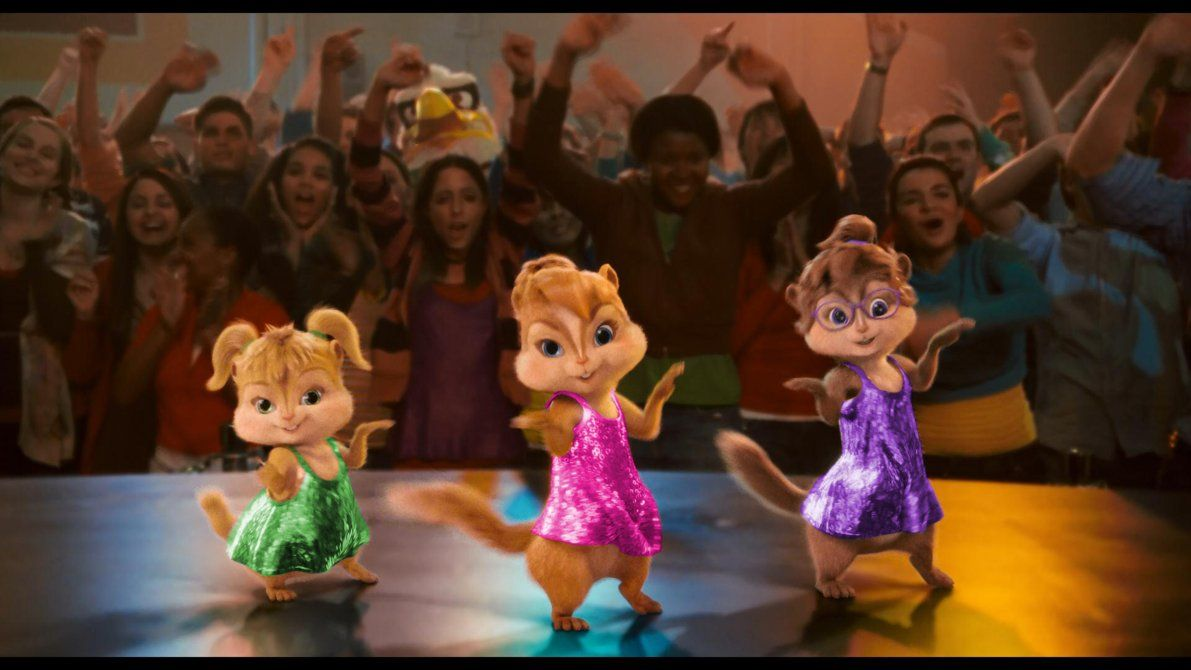 the chipettes - Google Search The Chipettes, Alvin And The Chipmunks, Funny  Songs,