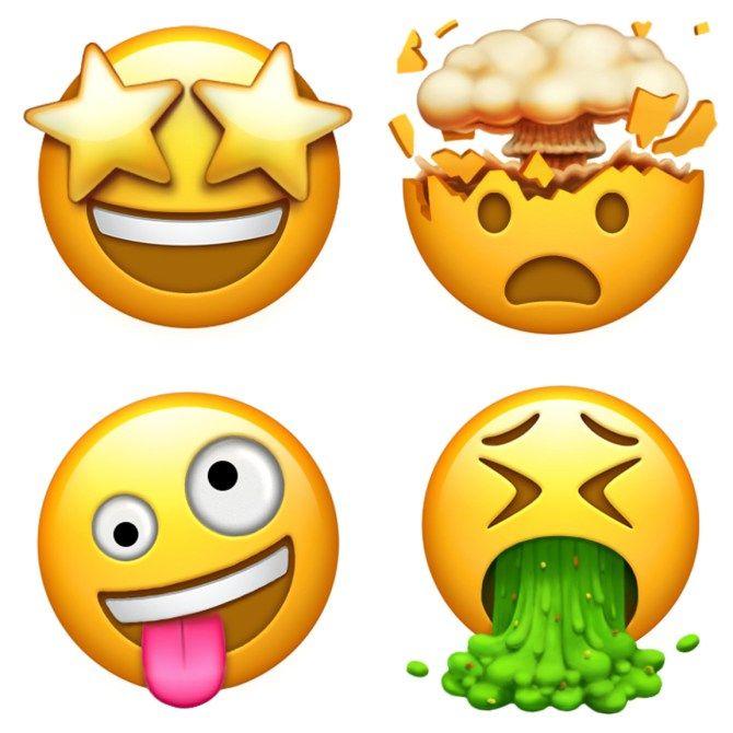 Apple Presenta Sus Diseños Para Los Nuevos Emojis Emojis De Iphone Emojis Emojis Dibujos