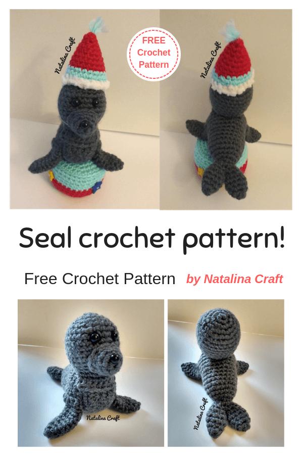 Seal of approval – Free crochet amigurumi pattern by TRH – Blog by ... | 900x600
