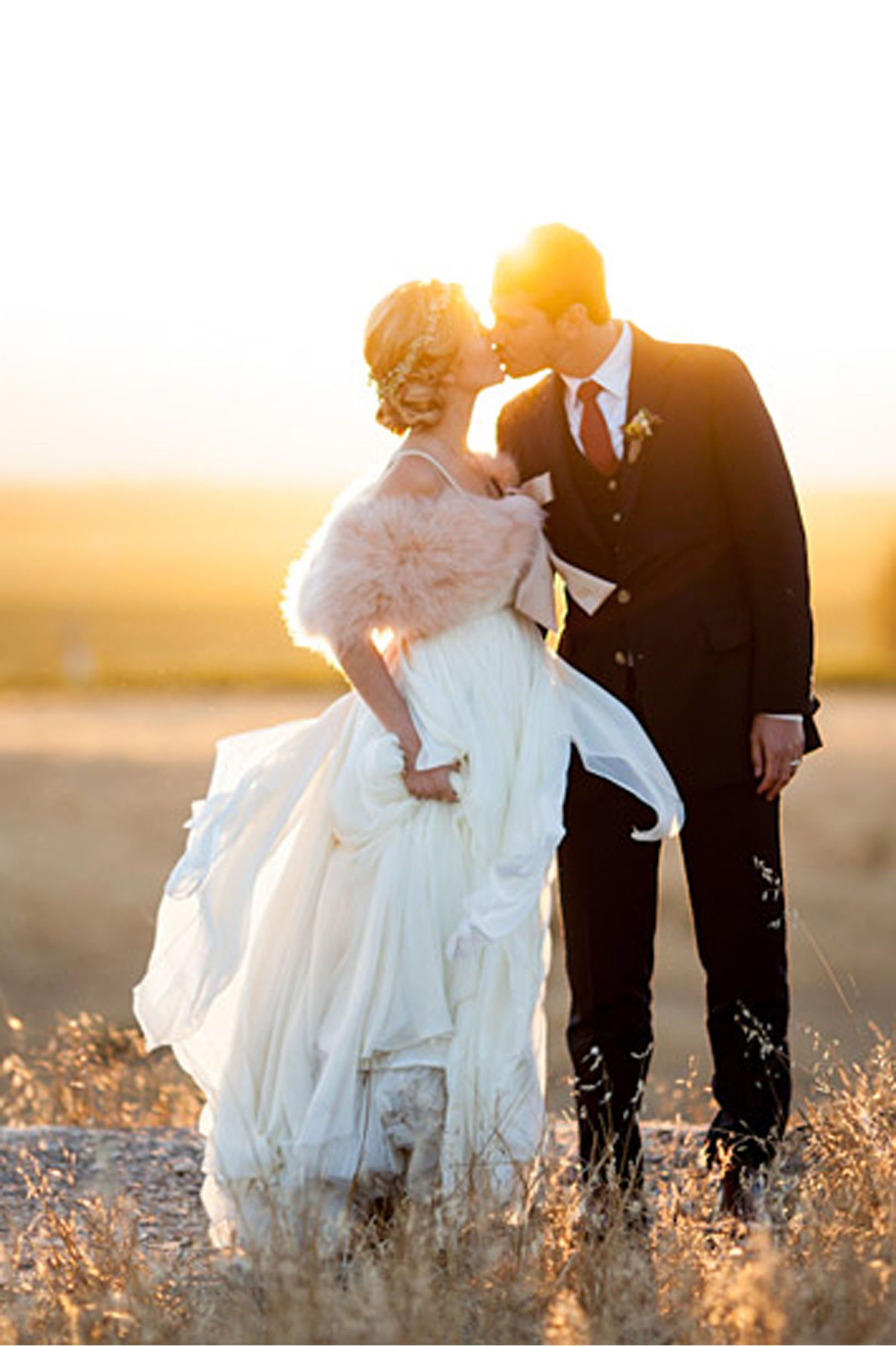 Cascading Goddess Gown from BHLDN Flowy and magical. I L-O-V-E ...