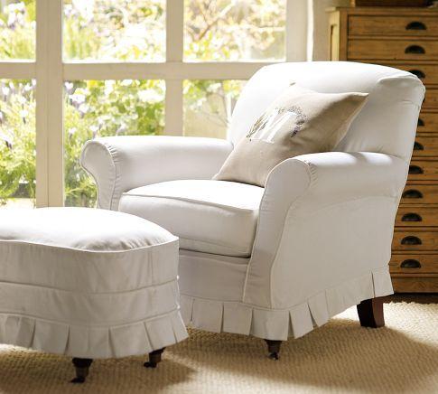 Savannah Armchair Pottery Barn Slipcovers For Chairs Furniture Armchair Slipcover