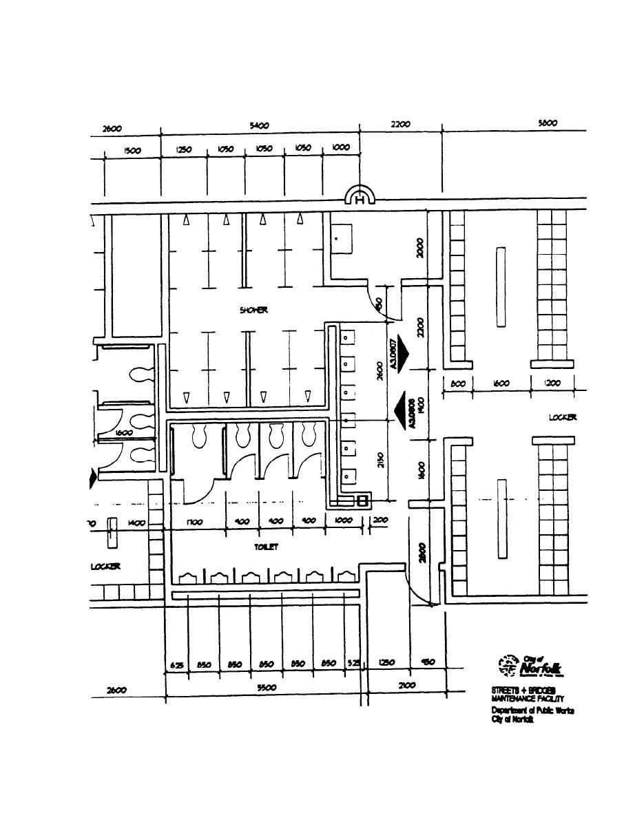 Endoscopy Room Layout Dimension: Architectural / Restroom Plan - Gsam20054