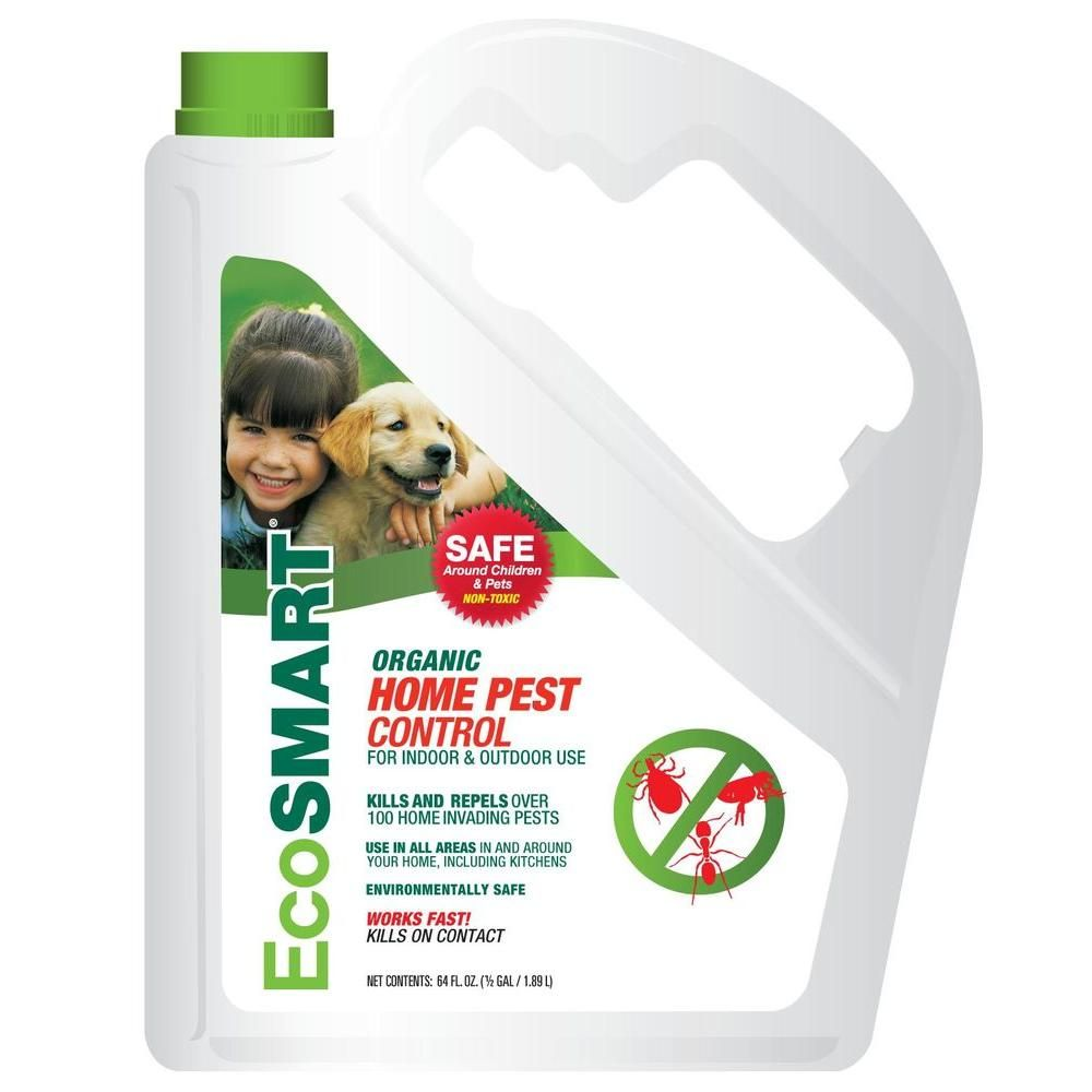 This ecofriendly pest control is made from a patented