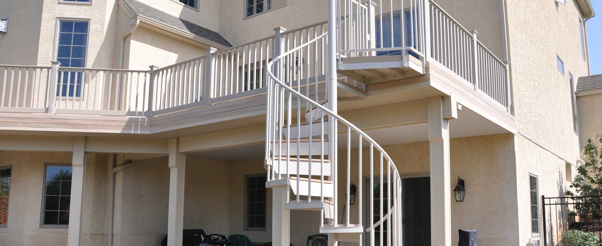 Outdoor Spiral Deck Stairs Spiral Stairs Spiral Staircases Salterspiral