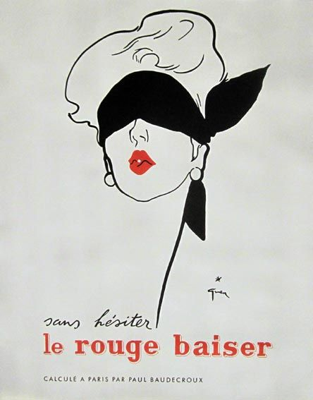 blind test advert for the lipstick rouge baiser pub pour le rouge l vres rouge. Black Bedroom Furniture Sets. Home Design Ideas
