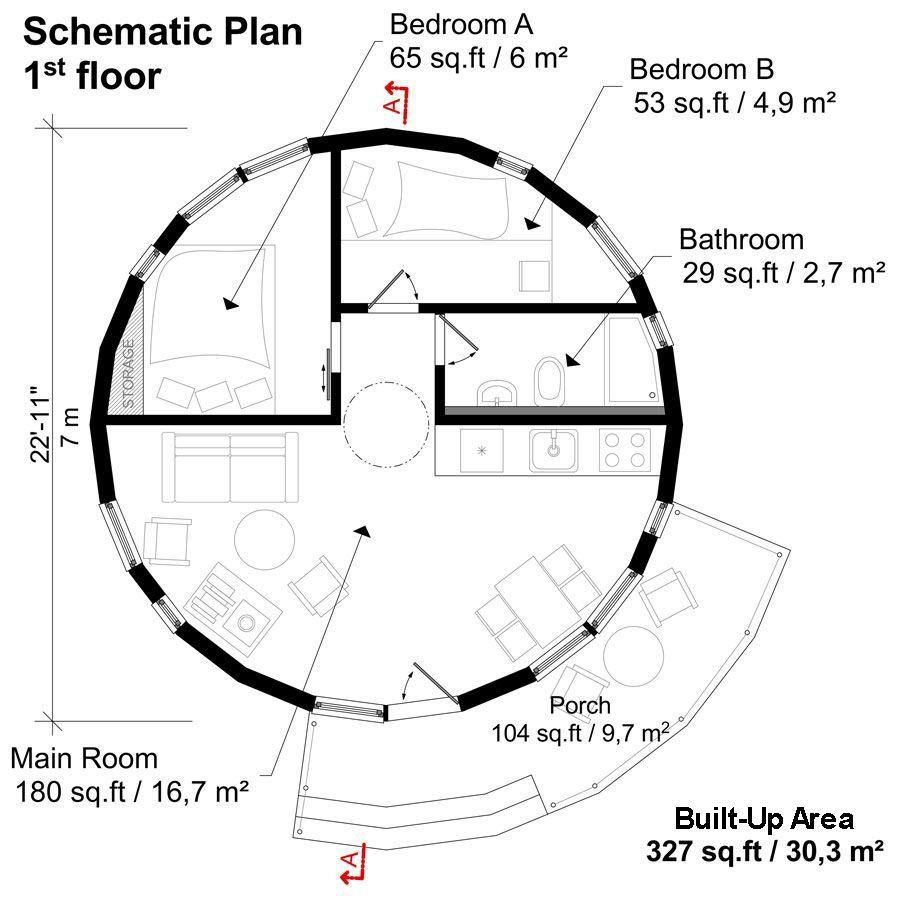 Round House Plans Stella