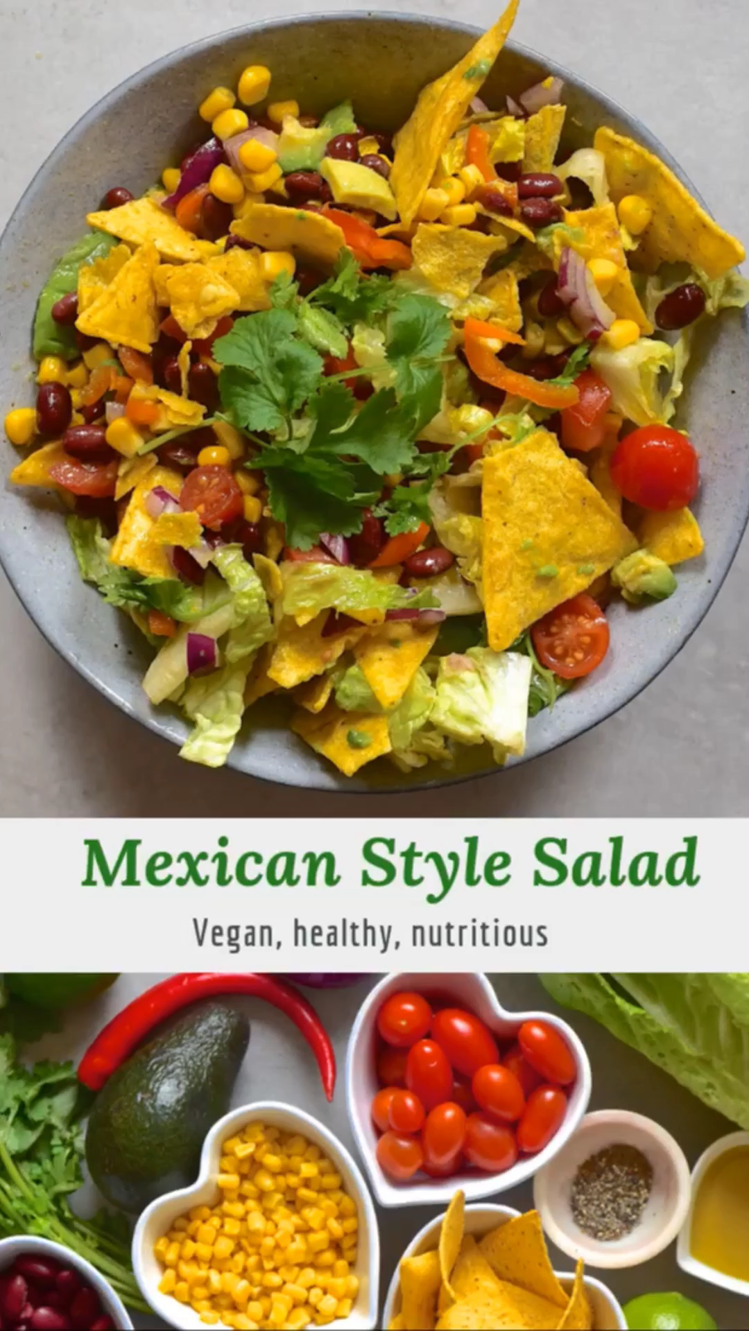 Mexican Inspired Salad in A Jar Recipe