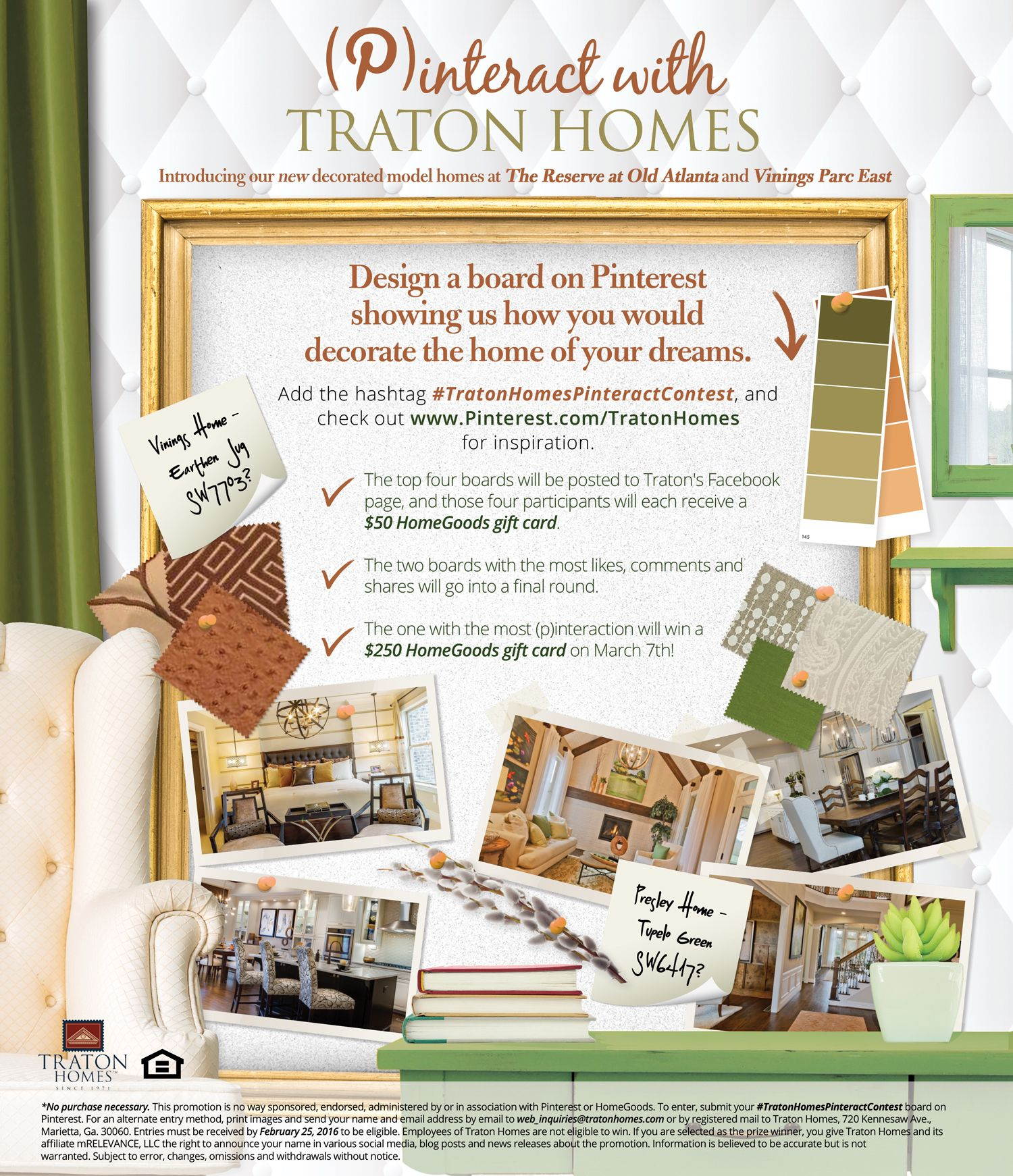 p interact with traton homes to win a 250 homegoods gift card rh pinterest com houses to win in uk houses to win in uk