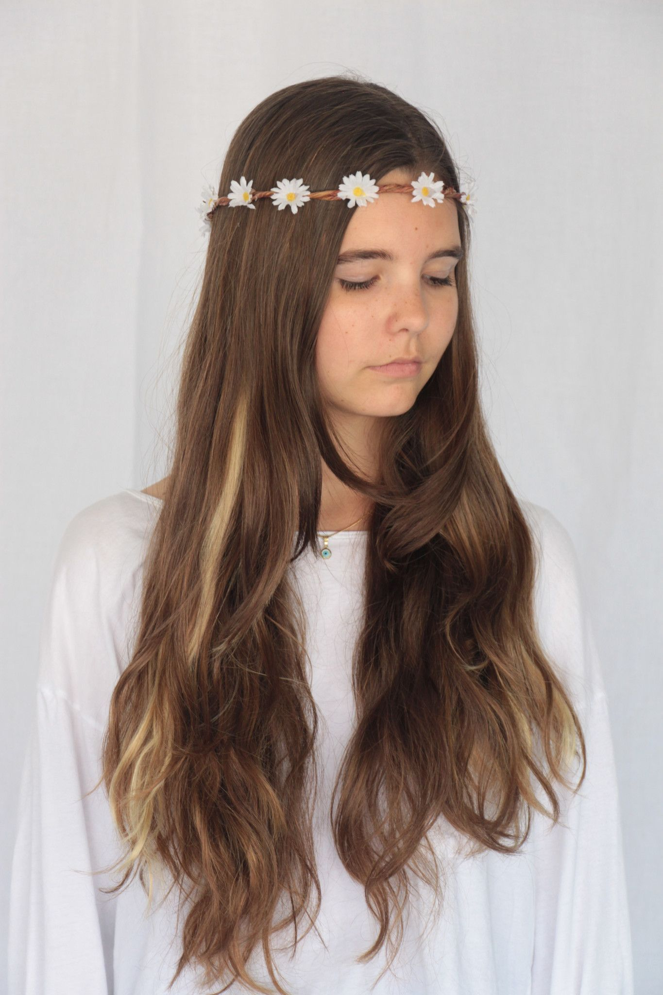 Wild Daisy Flower Crown Hairmake Upbeauty And Nails Pinterest
