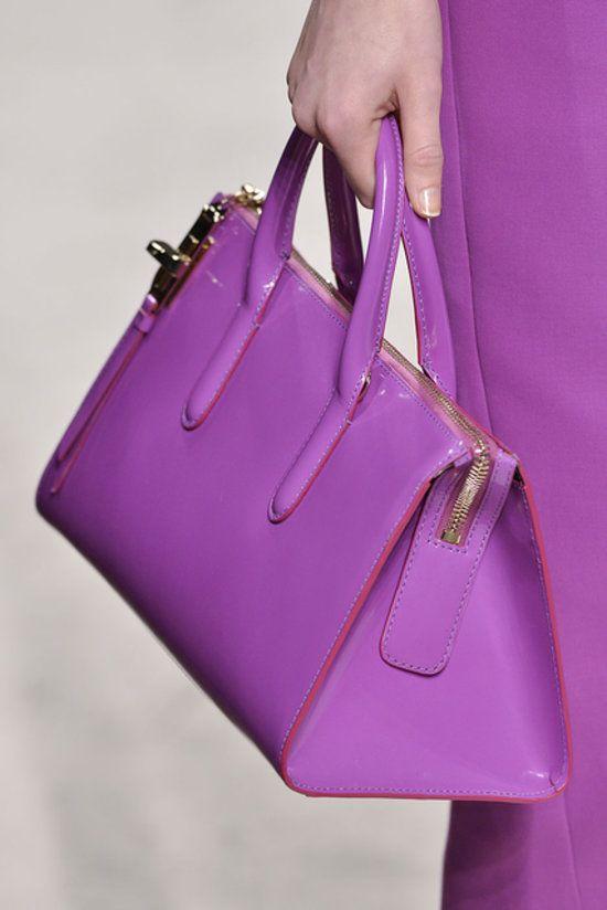 9329ceea4b Max Mara Spring 2014 Purple Handbags
