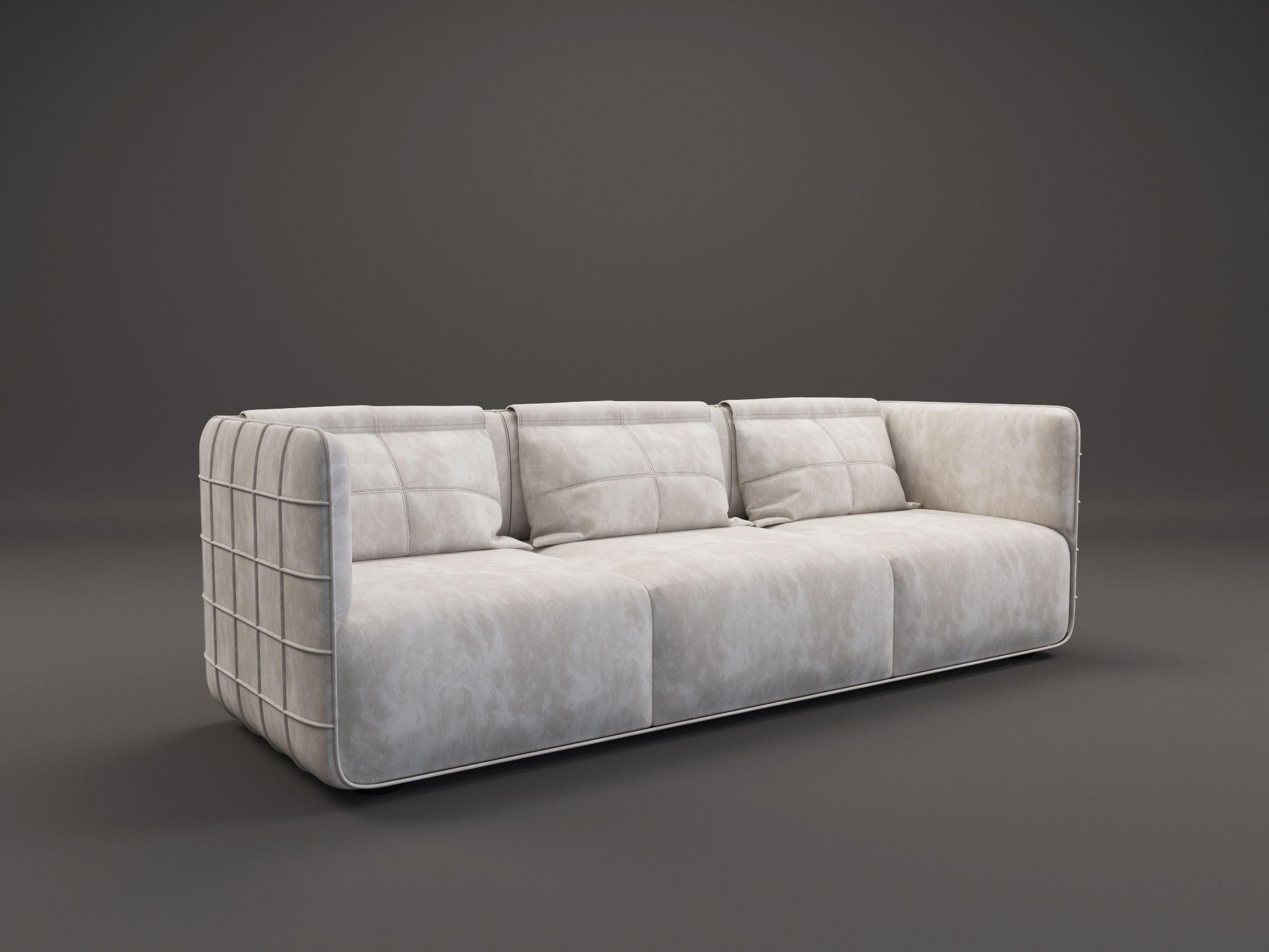 TORINO sofa by Ekaterina Elizarova. Nubuk, brass. #unique #design #furniture #ekaterinaelizarova #elizarova #limited #edition #madeinitaly #handcrafted #elizarovadesign #limitededition #art #modernart #collection