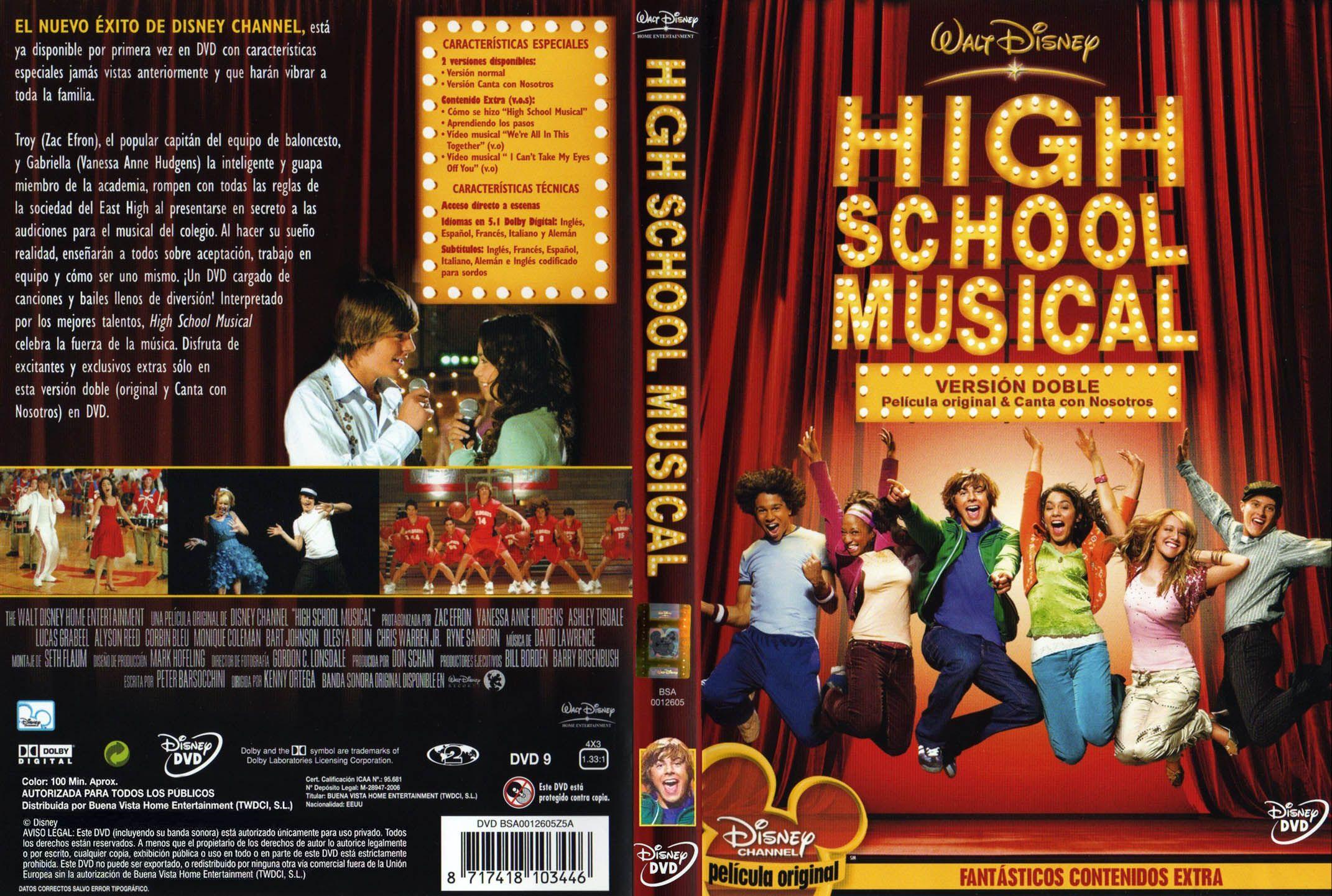 High School Musical Dvd High School Musical High School Musical Dvd Musicals