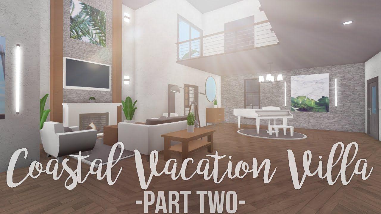 Modern Living Room Bloxburg | House rooms, Bedroom house ...