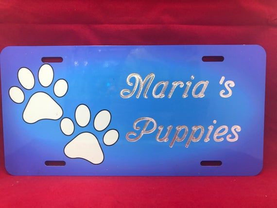 Country License Plate Personalized Custom Engraved Auto Car Tag Vanity Plate