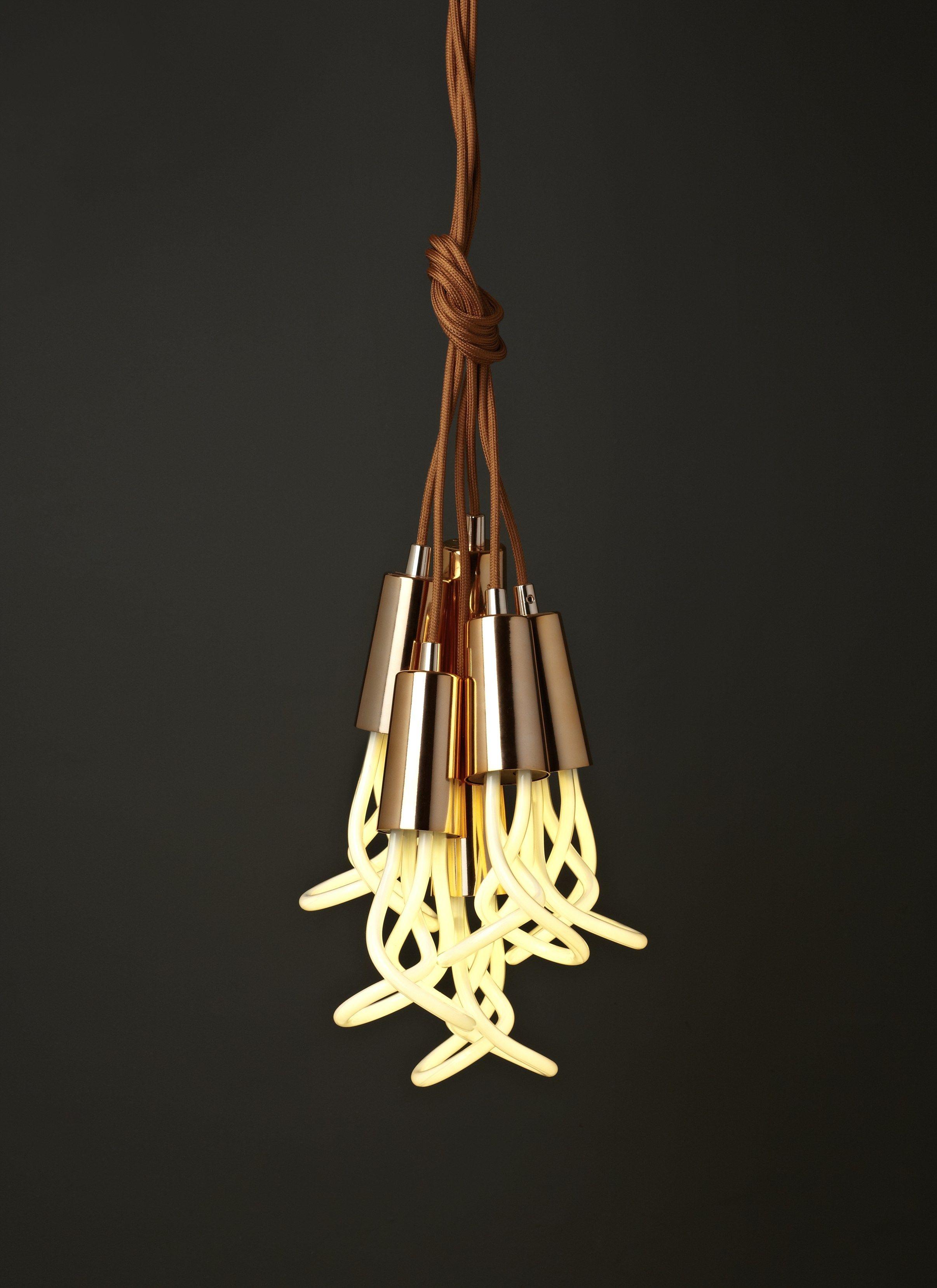 Luminária pendente de metal PLUMEN DROP CAP by Plumen