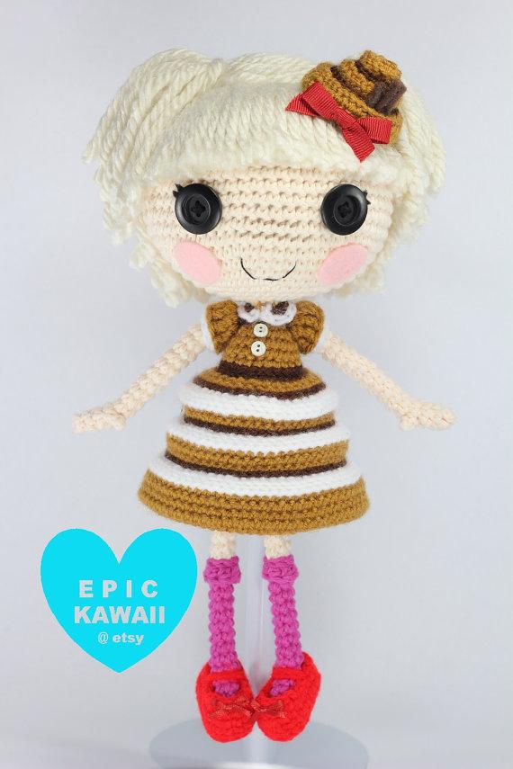 Lalaloopsy Marina Amigurumi Doll Crochet Doll finished | Etsy | 855x570