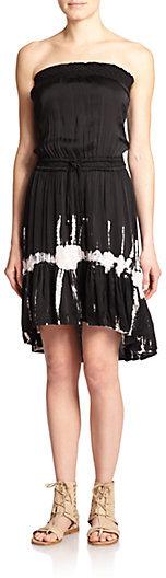 Gypsy 05 Printed Strapless Dress