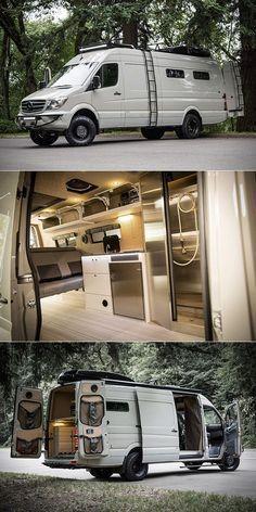Valhalla Benz Sprinter 170ext Camper Caravan Sprinter Camper Van Camping