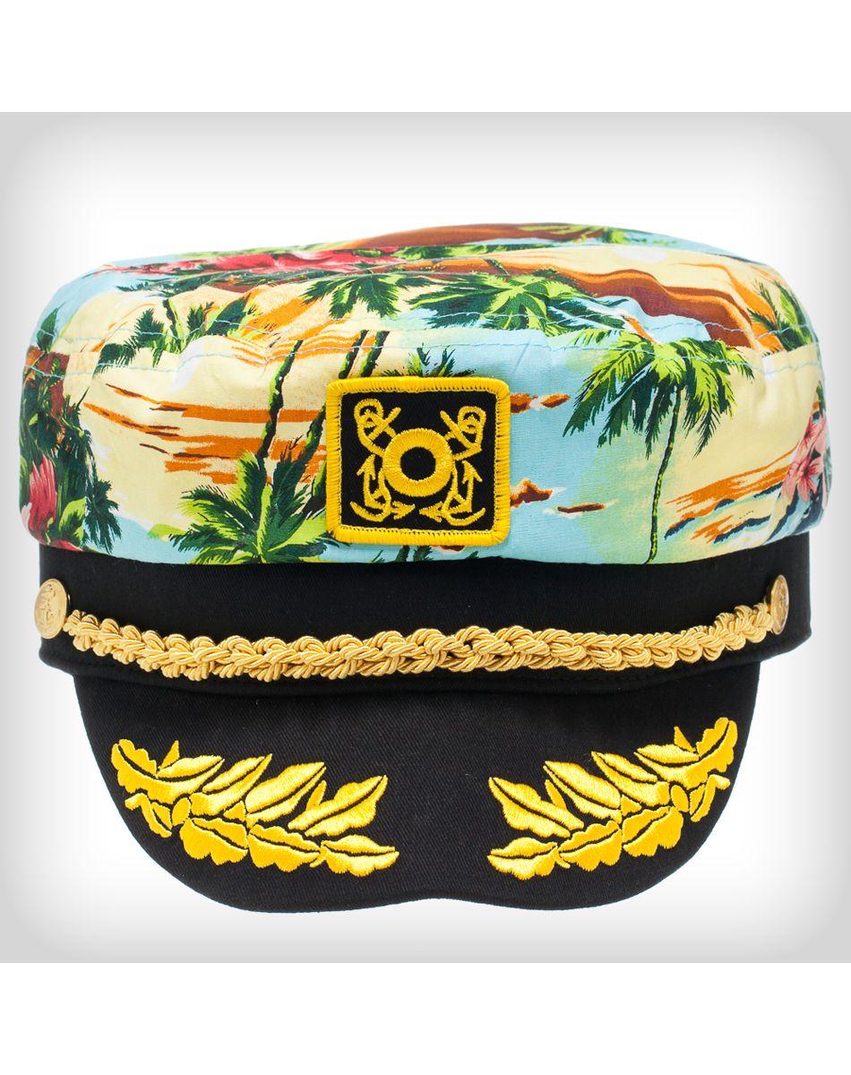 88159c98 Blue Tropical Skipper Hat | 4th of July | Hats, Baseball hats, Party ...