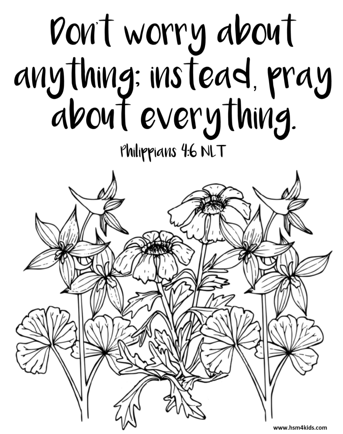 Don T Worry About Anything Pray About Everything Free