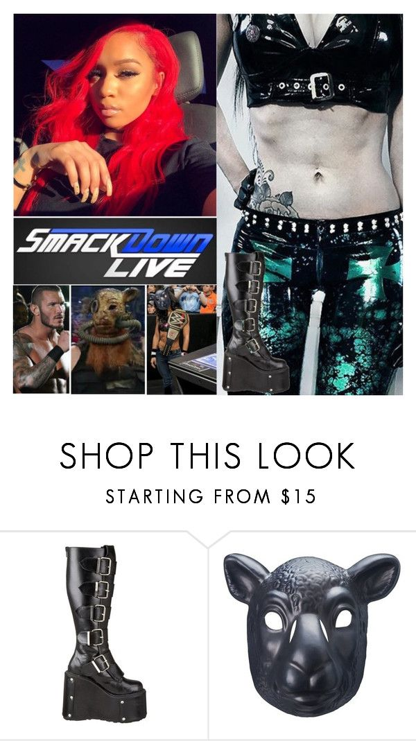 """""""Smackdown Live: Vice Versa"""" by digital-minerva ❤ liked on Polyvore featuring WWE and Pleaser"""