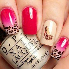 gelish uv nail gel wholesale OEM ODM chinese manufactory supplier cheap bluesky cco i do harmony Black and gold glitter nail art. Nails Nails Nails!