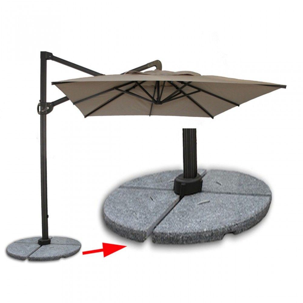 patio umbrella base granite outdoor