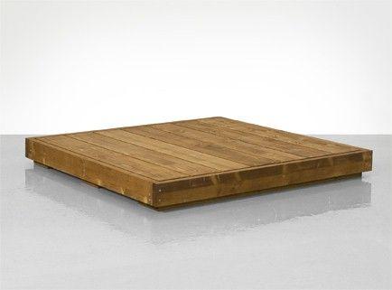 und so baut mal also ein podest aha for the home pinterest podest holz und garten. Black Bedroom Furniture Sets. Home Design Ideas